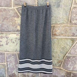 Vintage 80's maxi skirt
